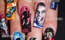 RAY WILLIAM JOHNSON & your favorite martian ROBIN MOSES nail art design tutorial