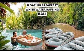 BALI VLOG: FLOATING BREAKFAST, WHITE WATER RAFTING & BALANGAN BEACH