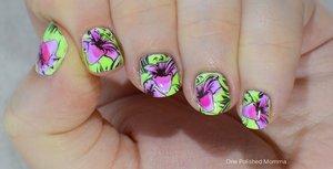 http://onepolishedmomma.blogspot.com/2014/11/leadlight-floral-stamping.html?m=1
