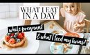 WHAT I EAT IN A DAY WHILE PREGNANT & WHAT MY TODDLERS EAT | Kendra Atkins
