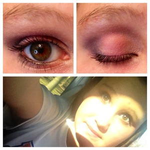I did my makeup (from light pink to purple).. Please comment and tell me what you think