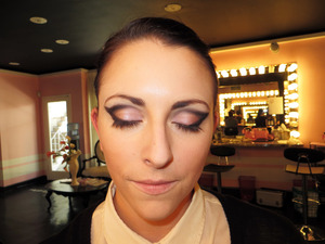 Yes, I have mastered the wing - such a great runway look.