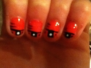 Simple nail art!