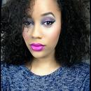 big curls & bold lips