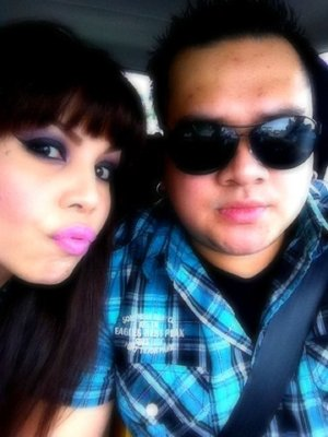 me and my hubby a.k.a. bestie-photographer