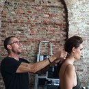 behind the scenes with Chris McMillan for Living proof and Modern Salon