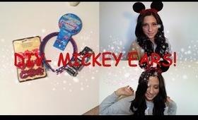 DIY - Mickey Ears (DISNEYLAND SERIES)