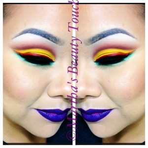 Jamaican inspired look