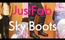 Show & Tell JustFab Sky Boots Plus OOTD Featuring Sky Boots