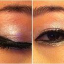 Feathery Eyeliner