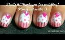 Pink Cupcake Nails