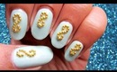 Simple and decent nail design   Tutorial