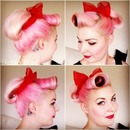 Pin up bun