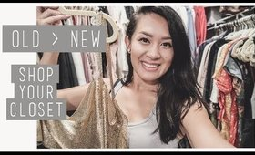 SHOPPING from MY CLOSET - REFRESH your OLD looks to NEW | ANN LE