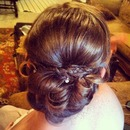 Homecoming updo