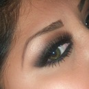 Brown Smokey Eye for Green Eyes