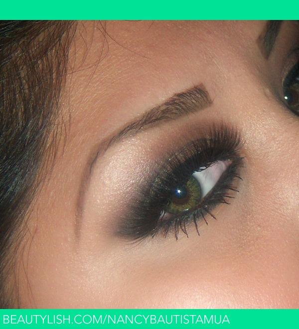 Brown Smokey Eye For Green Eyes Nancy B S