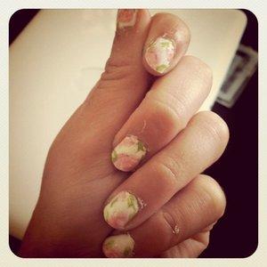 Rose Nails :)