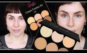 SLEEK Makeup 'CREAM CONTOUR KIT' FIRST IMPRESSIONS DEMO | LetzMakeup