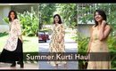 Summer Kurti Haul - SALE on Flipkart Kurtis Under Rs 1000 || SuperWowStyle