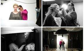 Backstage photoshooting of / Fotenie Soňa Z. JAN 2015