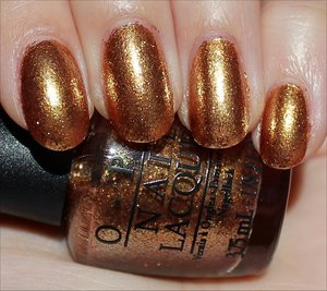 See more swatches & my review here: http://www.swatchandlearn.com/opi-goldeneye-swatches-review/