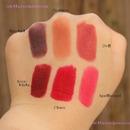 NYX Lipstick Swatches 1