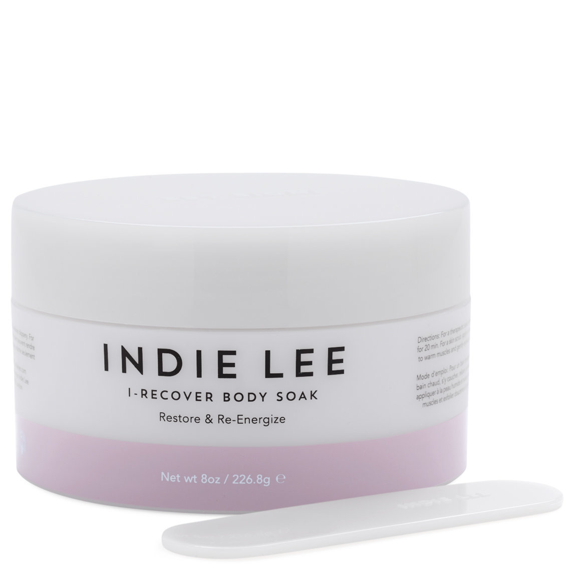 Indie Lee I-Recover Mind + Body Soak product swatch.