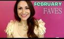 FEBRUARY 2013 BEAUTY FAVES