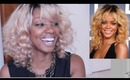 Blonde Rihanna Hair Full Lace Wig Review