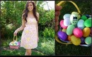 What I wore for Easter! Hair, Makeup & Outfit