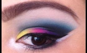 Makeup Forever Shadows: Makeup Tutorial -vcruzbebe