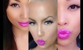 Amber Rose (BET Awards 2103) Inspired Makeup
