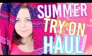 HUGE SUMMER TRY ON HAUL ☼ INEXPENSIVE: FOREVER 21, WALMART, BOUTIQUE, WALK TRENDY, ADORE ME