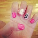 Cute, and sassy nail design