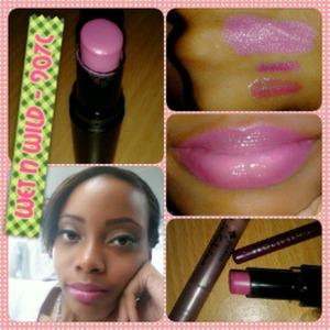 The lip gloss in Jordana Lip Shine Natural Glaze in Raspberry.