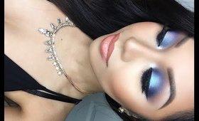 Blue Smokey Eyes ♡ Anastasia Artist Palette Tutorial