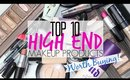 Top 10 High End Makeup Products Worth Buying!