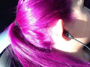 It's so pretty in sunlight :3 Special Effects in Pimpin Purple