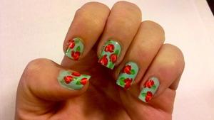 Vintage Floral Nails!