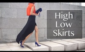 High Low Skirt Pairings