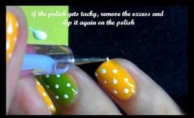 Simple Polka Dot Nails