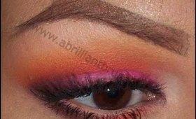 Makeup Tutorial | Summer Sunset Eyes feat. INGLOT and Sugarpill