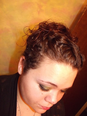 New Years hair and makeup