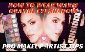 How To Wear Warm Fall Colored Eyeshadow | mathias4makeup