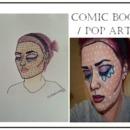 Comic Book / Pop Art Makeup Style