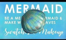 Tutorial & Swatches ♡ Tarte Be A Mermaid & Make Waves Palette