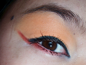 Here's a closer view. All products used can be found on my blog: http://hnubcibeauty.blogspot.com/2012/03/spring-inspiredcolor-blocking.html