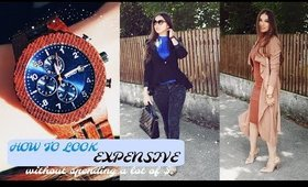 HOW TO LOOK EXPENSIVE WITHOUT SPENDING A LOT OF $ + GIVEAWAY