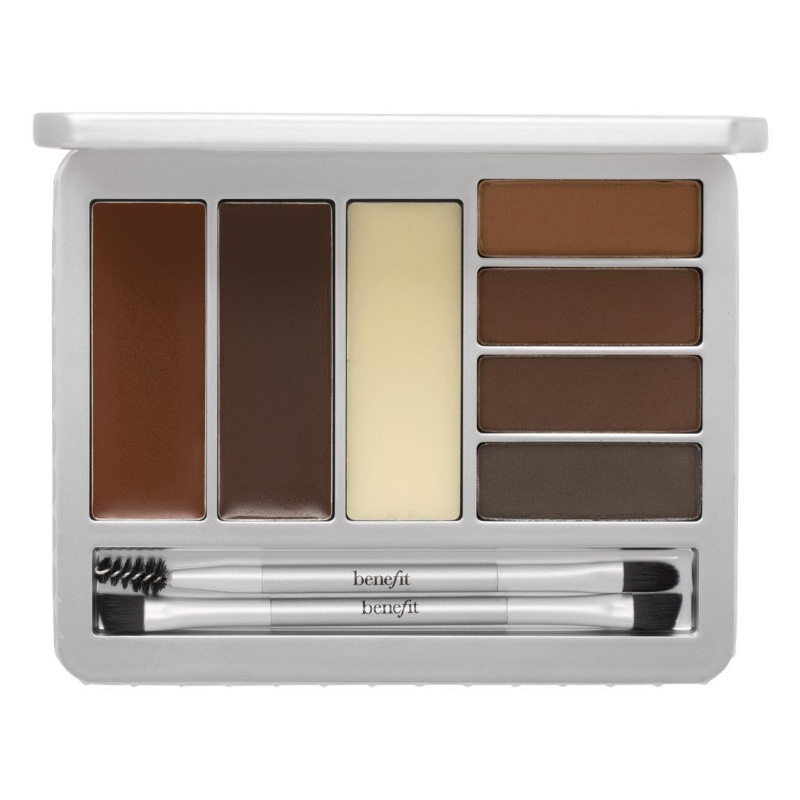 Benefit Cosmetics Brow Zings Pro Palette Medium-Dark product swatch.